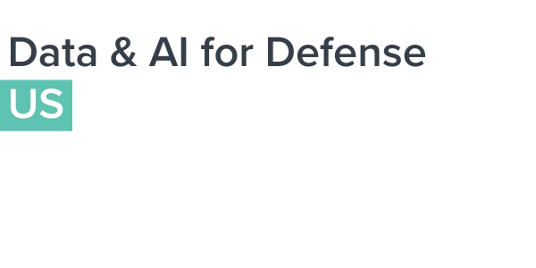 Data & AI for Defense 2021